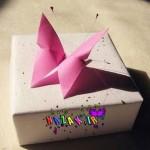 اریگامی بسیار زیبا و ساده ی پروانه